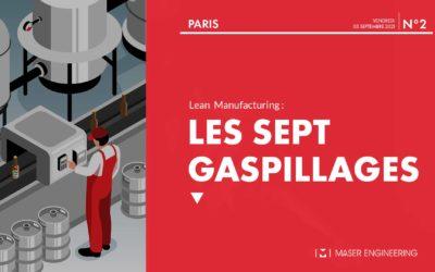 Les 7 gaspillages du lean manufacturing
