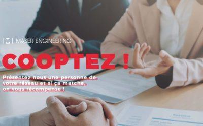 Maser Engineering : «la cooptation a du bon !»