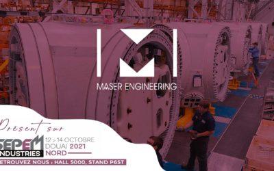 Maser Engineering au salon SEPEM Industries à Douai