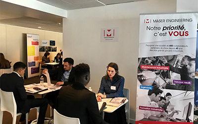 Maser Engineering participe au Job Dating organisé par l'AFORP au Stade de France