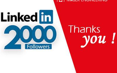 +2 000 abonnées sur Linkedin