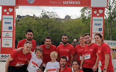 Nos équipes participent à la No Finish line Paris 2019