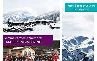 Seminaire 2019 Maser Engineering à Valmorel