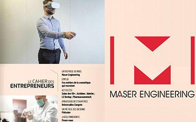Le magazine Votre Agglo parle de Maser Engineering !